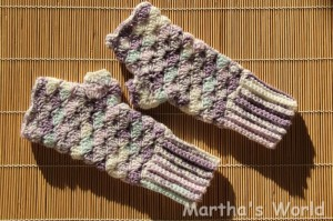 fingerless mittens Briar